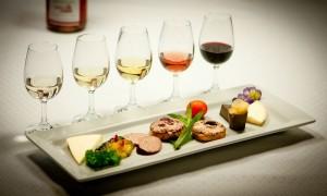 wijn en gerechten